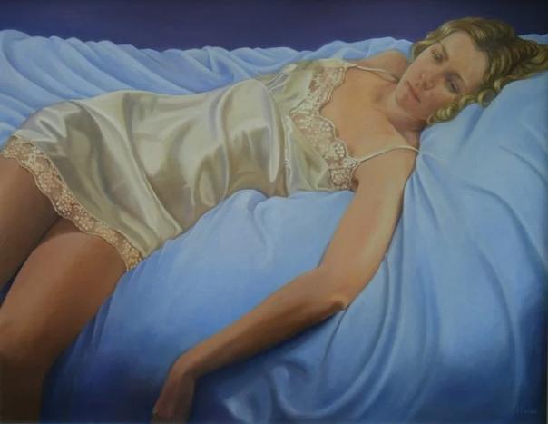 Джейн Экслес  талантливая художница из Великобритании
