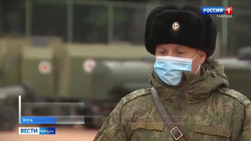 Военные разворачивают 2 полевых инфекционных госпиталя в Крыму 24 декабря 2020