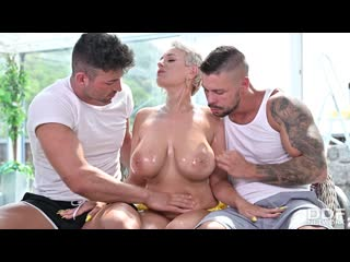 Angel Wicky (Busty Blonde'S Three On One Fun) [2020, DP, Anal, GangBang, MILF, Big Tits/Ass, Cum On Tits, 1080p]