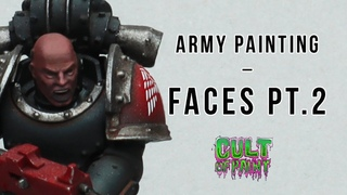 How to Paint Black Skin on your army painted Space Marines and other tabletop miniatures