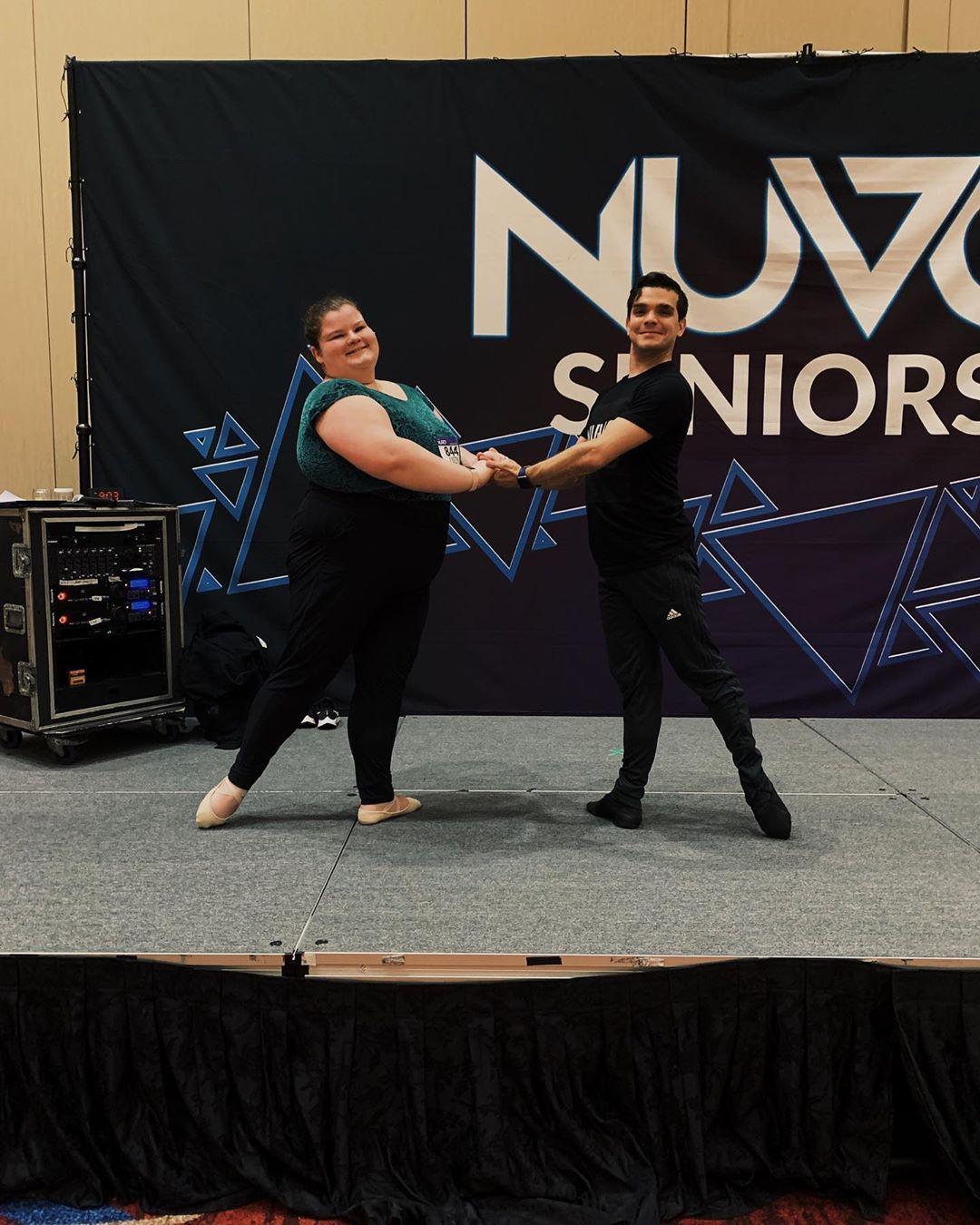 Нестандартная балерина покоряет своими танцами поклонников