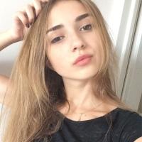 Фотография страницы Ангелины Калининой ВКонтакте