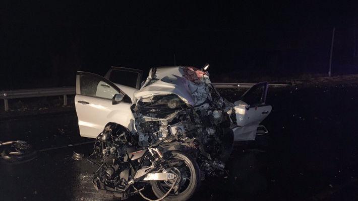В Самарской области произошла жуткая авария с участием мотоциклиста