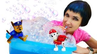 Щенячий патруль и детский садик Капуки Кануки - Видео с игрушками из мультфильмов и Машей