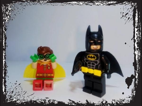 Китайское Лего Фильм: Бэтмен. Бэтмен и Робин. Chinese LEGO Movie: Batman, Batman and Robin.