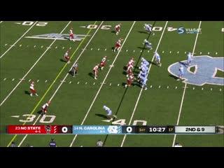 1st half | North Carolina State  NC Tar Heels | Week 08 | 2020 NCAAF | Viasat RU