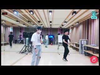 [] Трансляция Golden Child   Добро пожаловать, это Чанчжун и Сонюн-хён   Infinite - Clock
