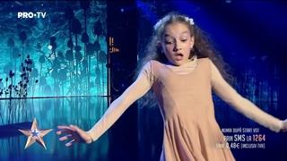 Talentul ei este nemărginit și te lasă cu gura căscată   Ema Stoian - Românii au Talent