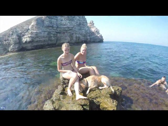 Путешествие по Крыму 4 часть Тарханкуте Джангуль Оленевка