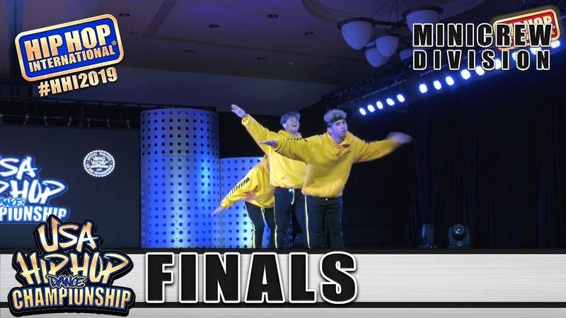 Exotics - Phoenix Lake, CA (3rd Place MiniCrew) at HHI's 2019 USA Hip Hop Dance Championship Finals