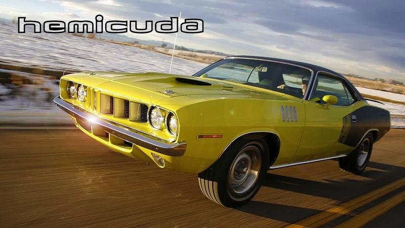 ИСТОРИЯ Плимут БАРРАКУДА Plymouth Barracuda 1970 1974 Часть 2