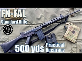 FN FAL (standard) to 500yds: Practical Accuracy (Iron Sights, DSArms)