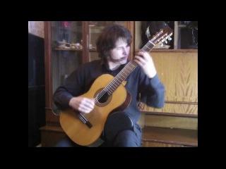 Vladimir Gapontsev. . Nocturnal (Exerpt) - London International Guitar Competition