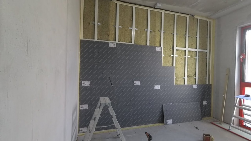 Шумоизоляция стены в квартире своими руками Все этапы Каркасный вариант