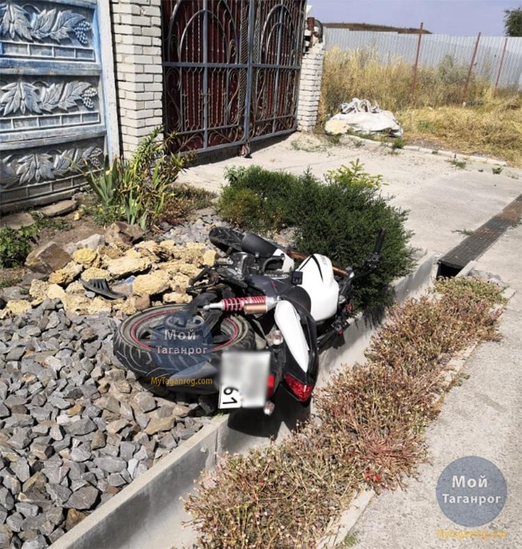 Под Таганрогом насмерть разбился 59-летний мотоциклист