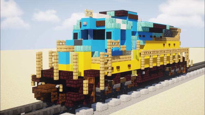 Minecraft Saudi SRO SDL50 Train Tutorial
