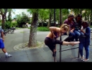 Oona Kivela Street Workout NYC