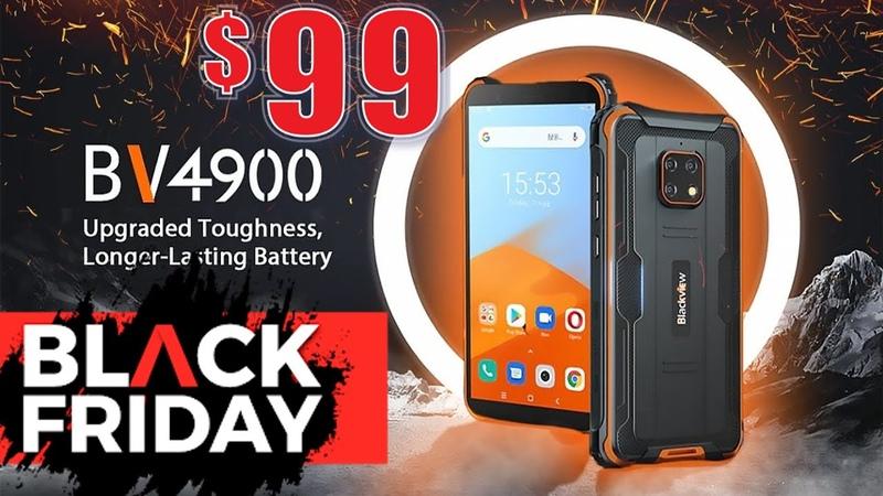 Blackview BV4900 Pro лучший защищенный смартфон всего за 99$