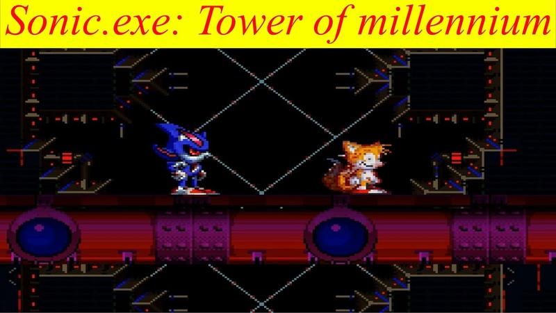 Полное идеальное прохождение за Метал Соника Секрет 1 | Sonic.exe ToM (1 Часть)