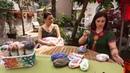 Alize Diva Batik ile Dekoratif Yastık Yapımı Making Decorative Pillow with Alize Diva Batik