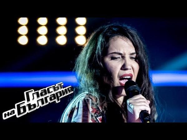Мария Величкова I'd Rather Go Blind Гласът на България 2019 Кастинги на тъмно 10 03