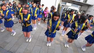 [4K]長岡京ガラシャ祭2016  京都橘高校吹奏楽部 Kyoto Tachibana SHS Band