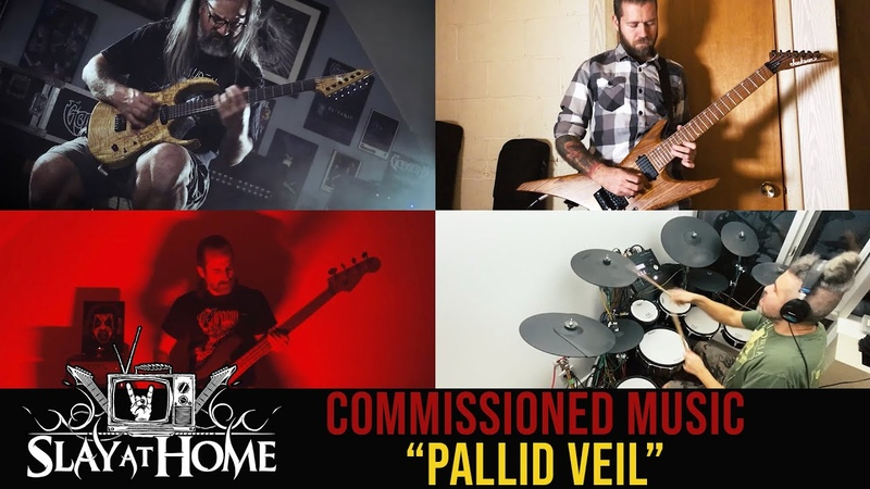Pallid Veil feat GORGUTS REVOCATION CARBOMB AZUSA at Slay At Home Fest Metal Injection