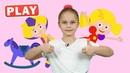 КукуРlay - ТАТИ Песенка - Танцуем с Настей Кукутики - развивающая детская песенка мультик про
