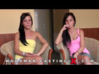 Jessy and Cats Taylor - WoodmanCastingX, casting anal porno