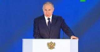 Путин предложил ежемесячно выплачивать беременным женщинам по 6350 рублей