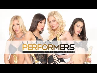 ElegantAngel Serene Siren, Scarlett Sage, Darcie Dolce, Charlotte Stokely, Milana Ricci - Lesbian Performers of the Year 2020